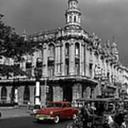 Havana Red Art Print