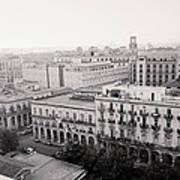 Havana Skyline Art Print
