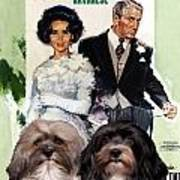 Havanese Art - Father Of The Bride Movie Poster Art Print