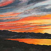 Havasu Sunset Art Print