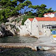 Haven In Dubrovnik Art Print