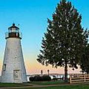 Concord Point Light ... Havre De Grace Md Art Print