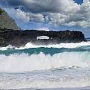 Hawaii Coastline Art Print