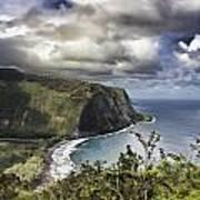 Hawaii Coastline Kauai  Art Print
