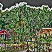 Hawaii Plantation Art Print