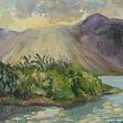 Hawaii Sunset Art Print