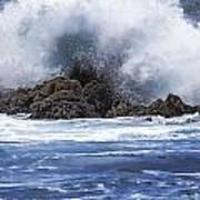 Hawaii Waves V3 Art Print