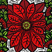 Hawaiian Christmas Joy Art Print