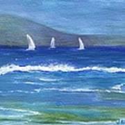 Hawaiian Sail Art Print