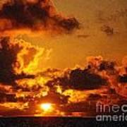 Hawaiian Sunrise Art Print