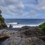 Hawaiian Surf Art Print