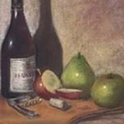 Hawley Wine Tasting Art Print