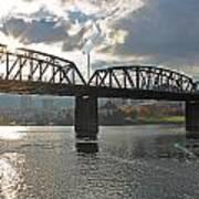 Hawthorne Bridge Portland 002 Art Print