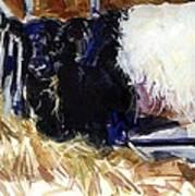 Hay Hay Art Print