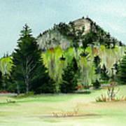 Haystack Mountain Castle Hill Me Art Print