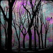Hazy Purple Art Print