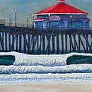 Hb Pier Art Print