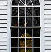 He Hears Our Prayers On Both Sides Of The Window Art Print