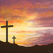 He Is Risen Art Print by Marna Edwards Flavell