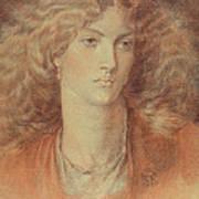 Head Of A Woman Called Ruth Herbert Art Print