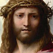 Head Of Christ Art Print