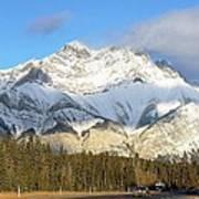 Heading For Banff Art Print