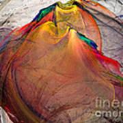 Headless-abstract Art Art Print