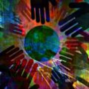 Heal The World Art Print