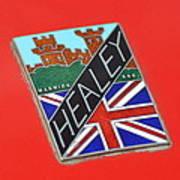 Healey Silverstone D Type Art Print