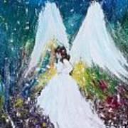 Healing Angel 2 Art Print