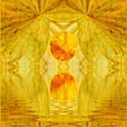 Healing In Golden Sunlight Art Print