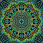 Healing Mandala 19 Art Print by Bell And Todd