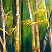 Hear The Bamboo Art Print
