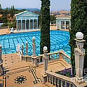 Hearst Castle Neptune Pool Art Print