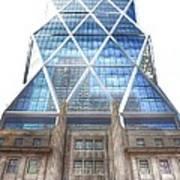 Hearst Tower - Manhattan - New York City Art Print