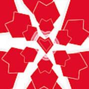 Heart Flower 1 Art Print