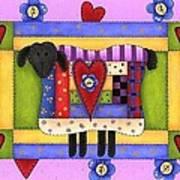 Heart For Ewe Art Print