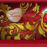 Heart Full Of Love Art Print