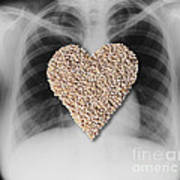 Heart Healthy Food Art Print