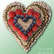 Heart-healthy Foods Art Print
