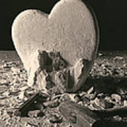 Heart Of Stone C1978 Art Print by Paul Ashby