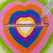 Heart Pipe Art Print