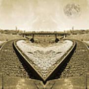 Heart Tracks Art Print