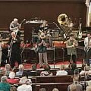 Heartbeat Dixieland Jazz Band Art Print