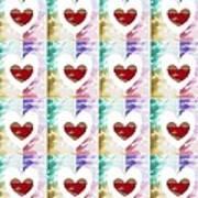 Heartful 2 Art Print