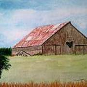 Heartland Barn Art Print