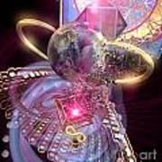 Heartworld 2 Art Print