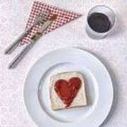 Hearty Toast Print by Joana Kruse