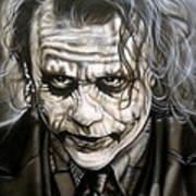 Heath Joker Art Print
