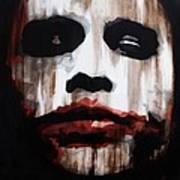 Heath Ledger Why So Serious Art Print